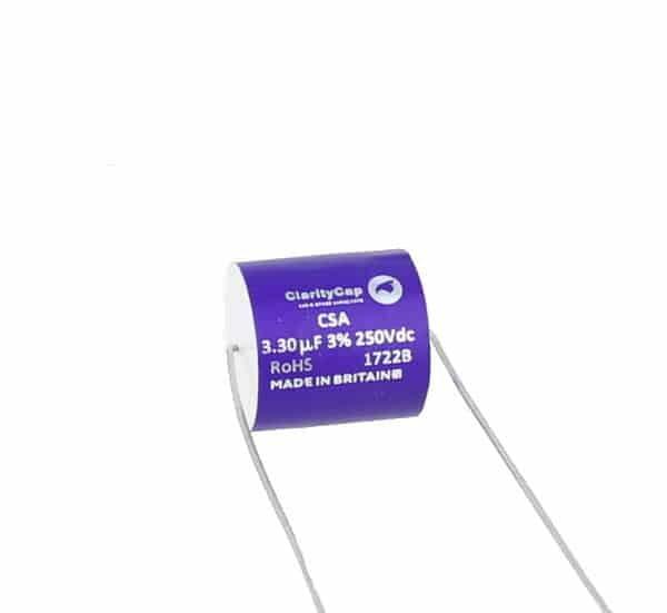 ClarityCap 3.3uf, CSA Range