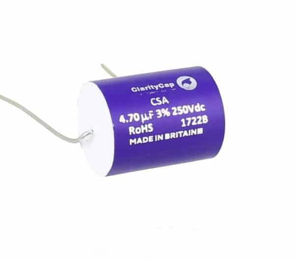 ClarityCap 4.7uf, CSA Range