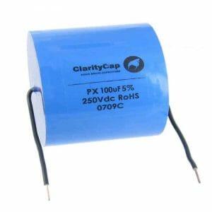 Clarity 100uf PX Range Capacitor