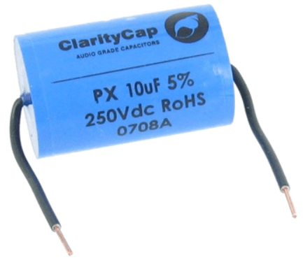 Clarity 10uf PX Range Capacitor